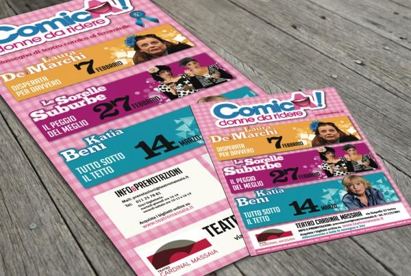 stampa e grafica Teatro Cardinal Massaia