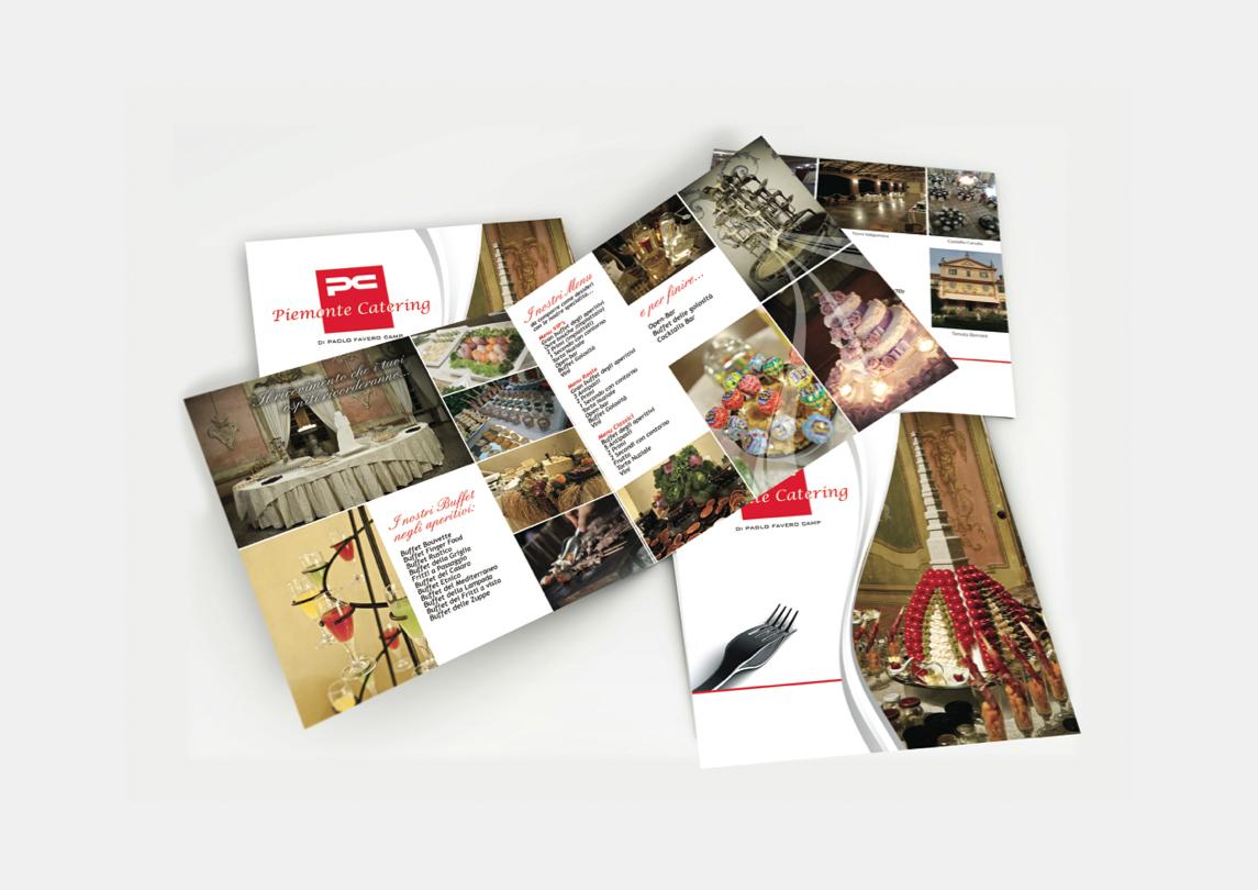 Realizzazione Brochure Torino Piemonte Catering