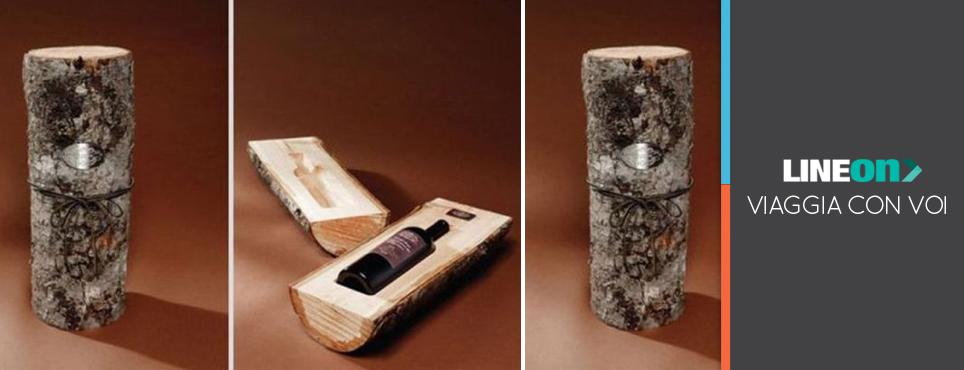 oggetto di design per promozione vino