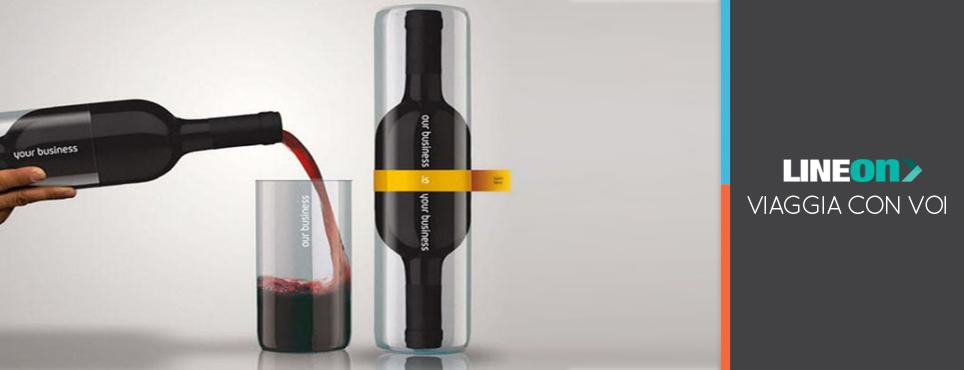 packagind di design per confezione di vino