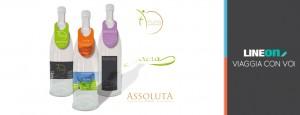 Etichette adesive e cartellini pubblicitari per bottiglie personalizzate
