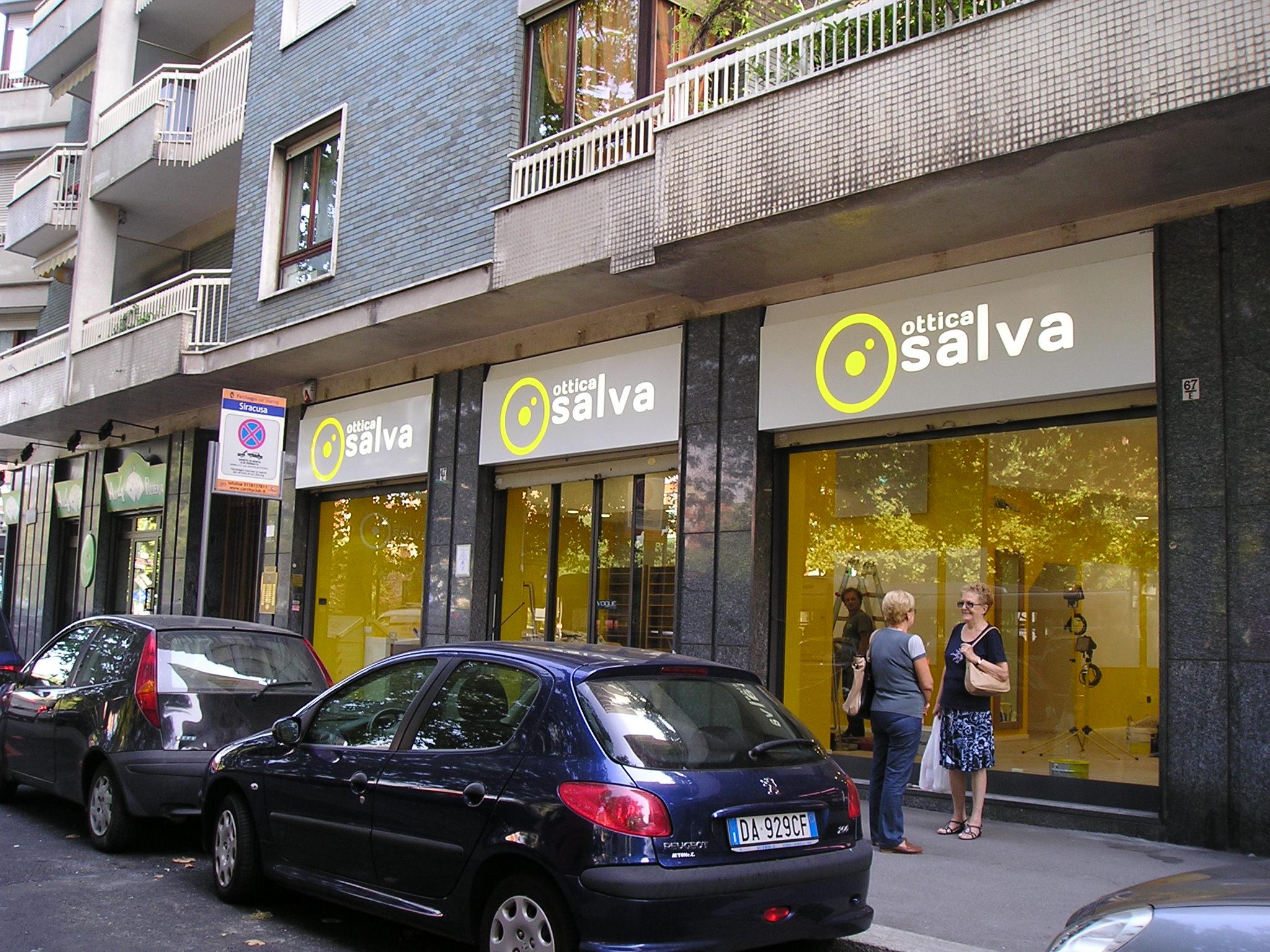Insegne Ottica Salva Torino