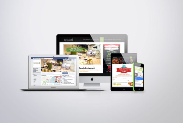 Benvenuto family restaurant gestione social e web marketing